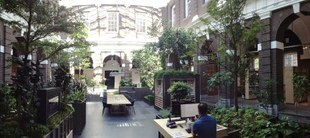 Korenbeurs bibliotheek Schiedam