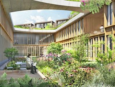 Nyt Nordsjælland ziekenhuis ontwerp