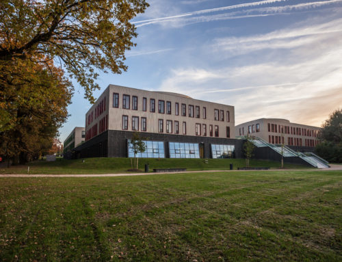 Een groene campus voor gemotiveerde studenten