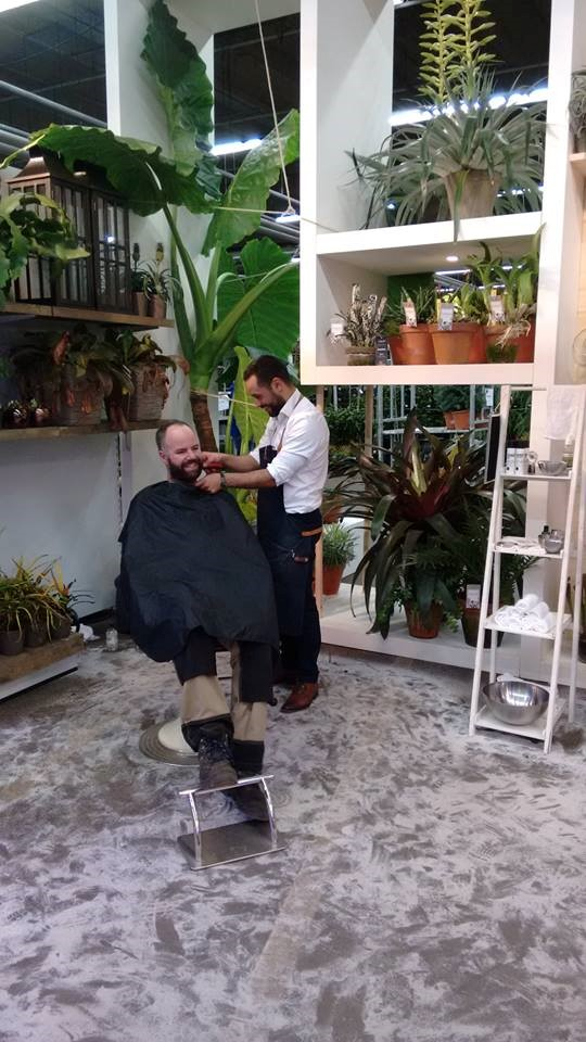 big plants in barber