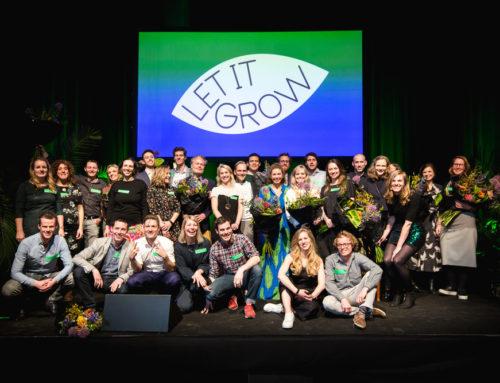 Let it Grow liet opnieuw frisse groene initiatieven bloeien