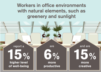 workers in office environments