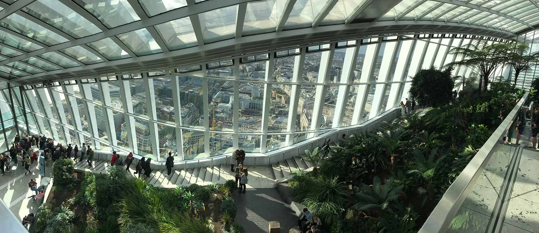 Sky Garden, Walkie Talkie Building